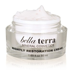 Bella Terra Mineral Cosmetics Nightly Restoration Cream